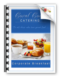 Corporate Breakfasts Menu